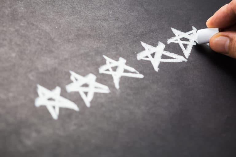 Testbewertung erfahrung test Sterne