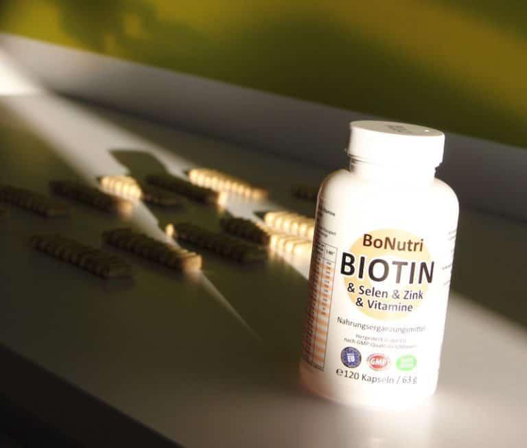BoNutri Biotin Zink Selen Vitamine Dose Kapseln