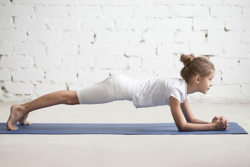 Kinderyoga Delfin-Plan Yoga für Kinder Foto