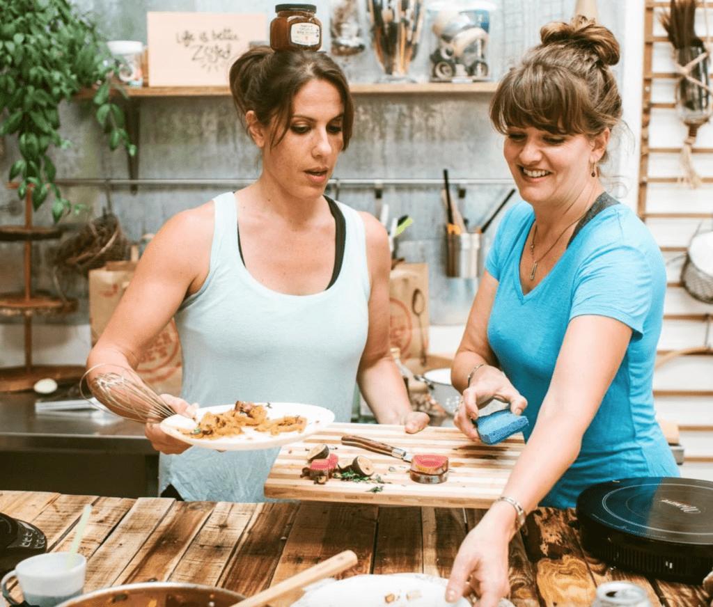 Shanna Ferrigno cooking kochen healty fit fitness gesund