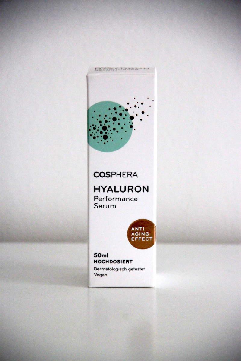 cosphera Hyaluron Serum Verpackung