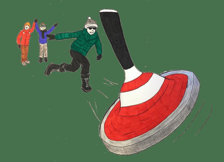 Eisstockschiessen katawan