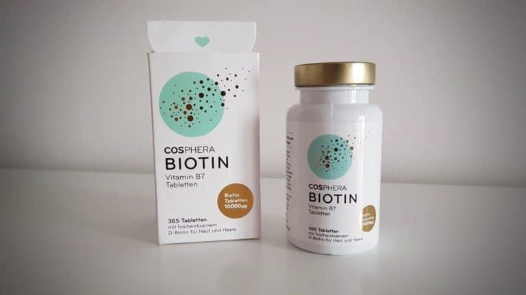 cosphera biotin tabletten verpackung