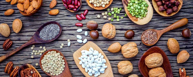 Kupferhaltige Lebensmittel Bohnen Nuesse Erbsen