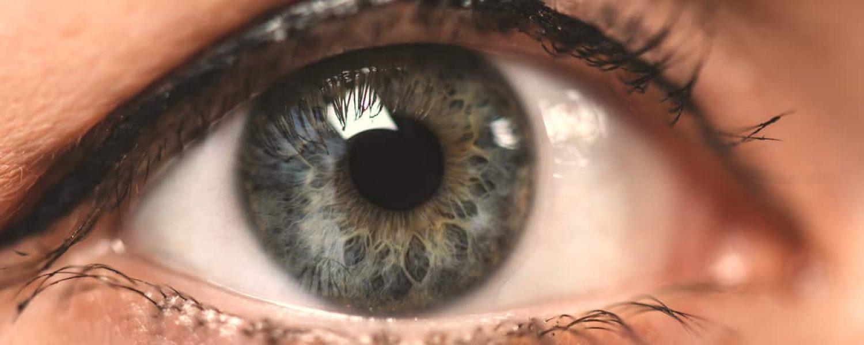 Schoene blaue Augen