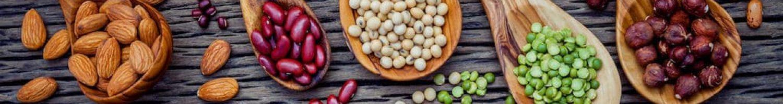 Vitamin B Nüsse Erbsen Bohnen Schale