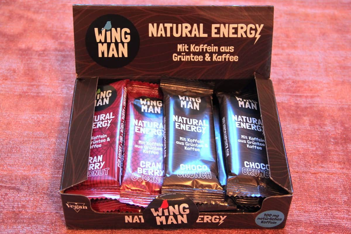 Wingman Energy Riegel Mischbox Choco Cranberry