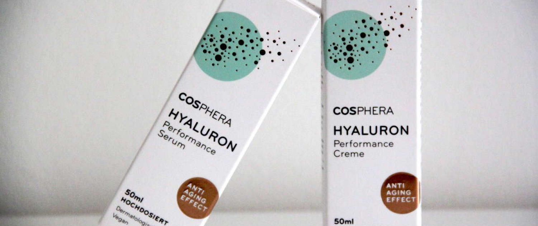 cosphera Hyaluron serum und creme