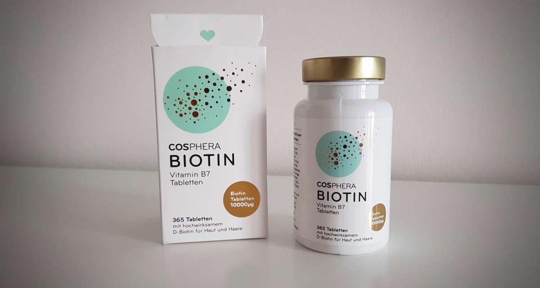 Erfahrungsbericht Cosphera Biotin Tabletten