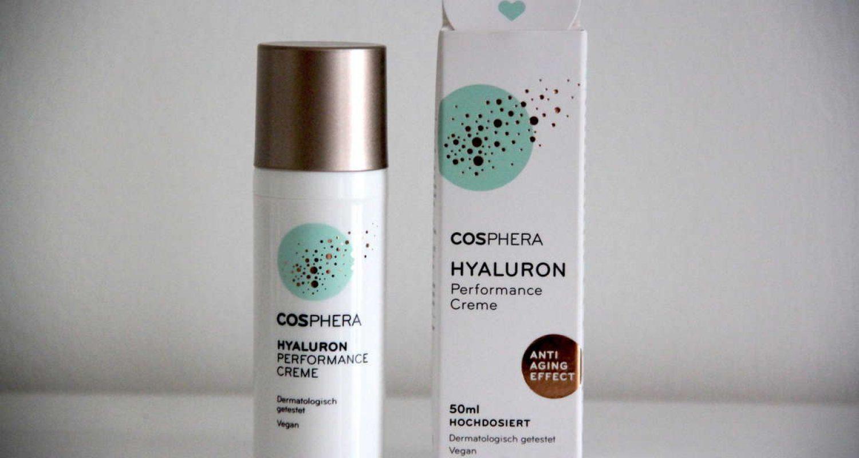 cosphera hyaluron creme verpackung und produkt