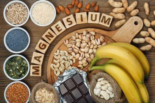 Magnesium Mikronaehrstoffe banane schokolade ballaststoffe gesund healthy