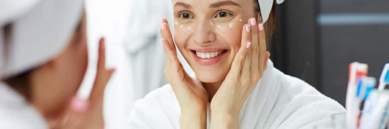 kraehenfuesschen creme gesichtscreme reinigung kein makeup badezimmer